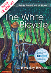 Cover of The White Bicycle by Beverley Brenna