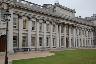 The Royal Naval College, Home to the Museum at Greenwich
